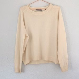 Vince L 100% cashmere crew neck sweater